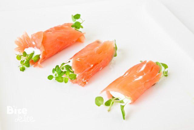 Smoked Salmon Roll-Ups Recipe — Dishmaps