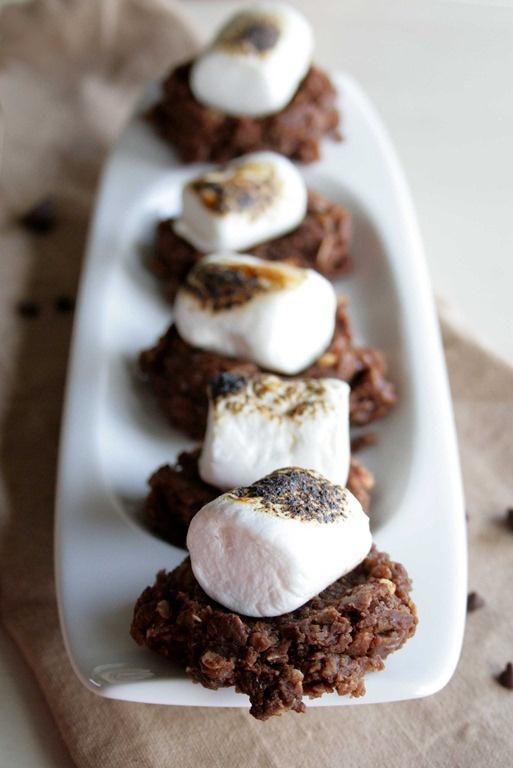 No Bake S'mores Cookies http://doughmesstic.com/2012/10/01/no-bake ...