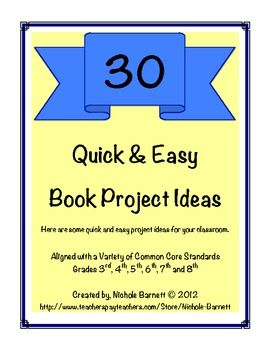 30 Quick & Easy Book Projects Ideas - Nichole Barnett ...