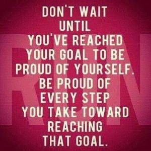 Be Proud Every Step