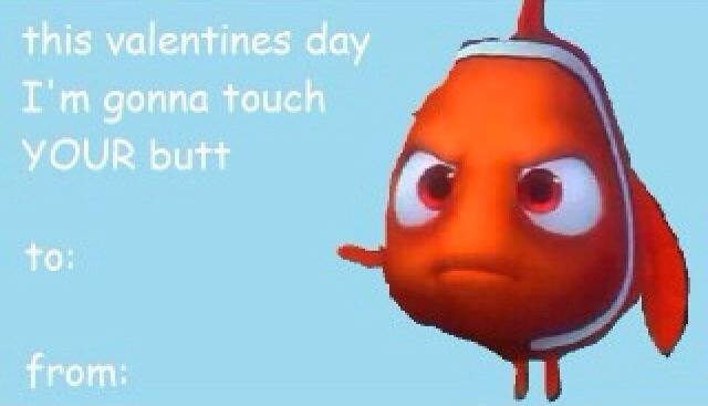 valentines day card nemo