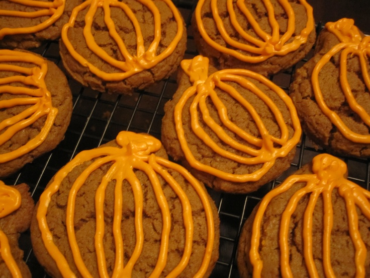 Pumpkin molasses cookies | Thanksgiving ideas | Pinterest