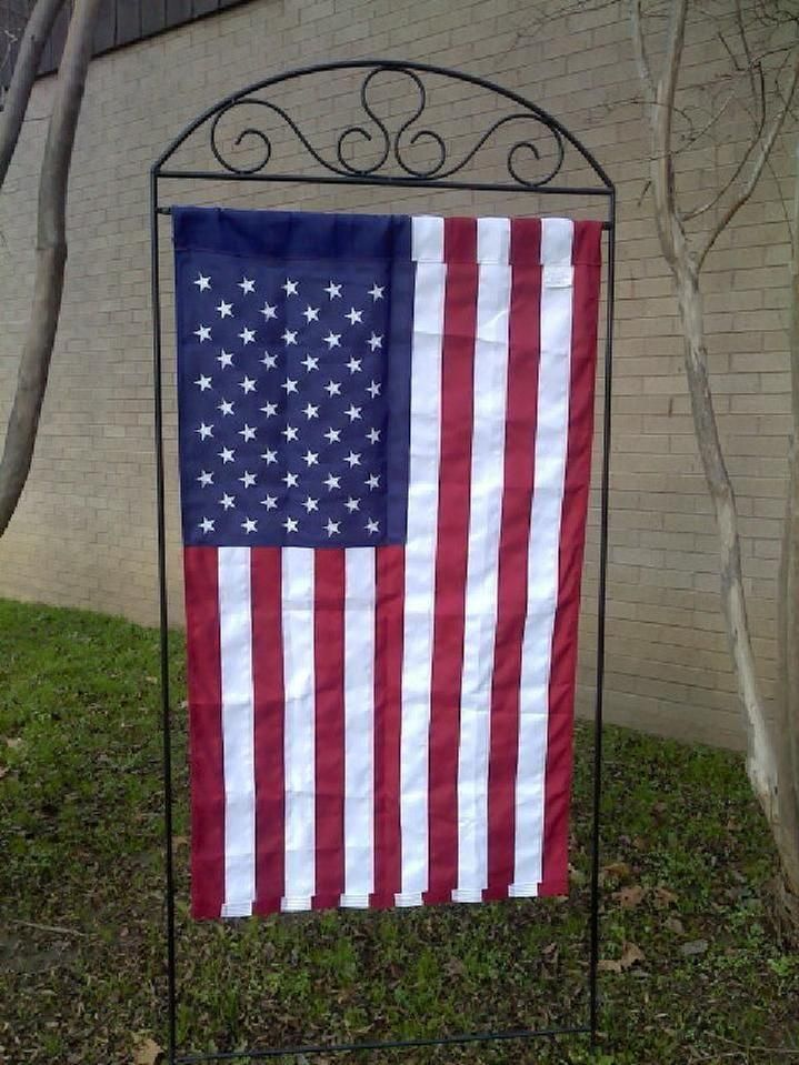 large flag stand home and garden pinterest