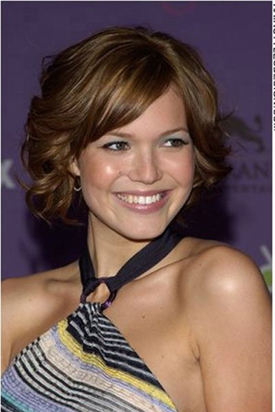 ... bit longer still cute. | Short Hairstyles for thick hair. | Pintere