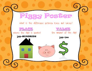 Place value poster | Freebies galore!!! | Pinterest