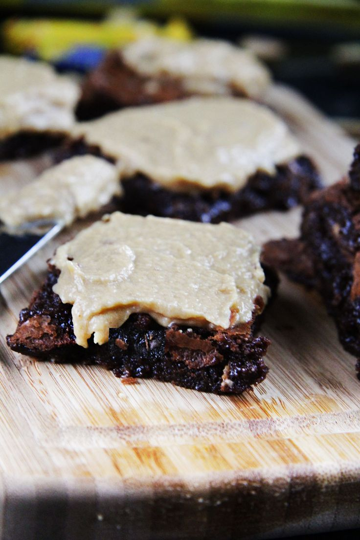brownie cupcakes with peanut butter frosting chocolate peanut butter ...