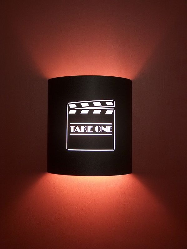 Home Theater Room Wall Sconces : Theater room sconce Home Movie Theater Design Ideas Pinterest