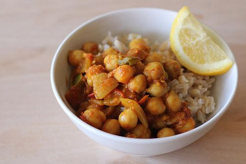Chana Masala Chickpea Curry from www.eatingcleanrecipes.com Make it as ...