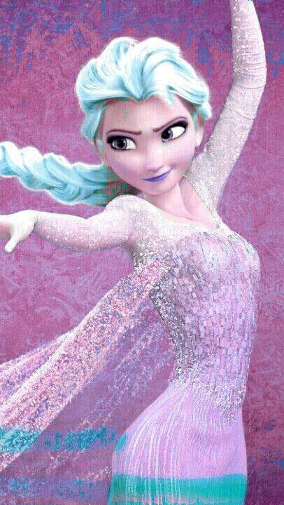 Purple elsa | Frozen | Pinterest