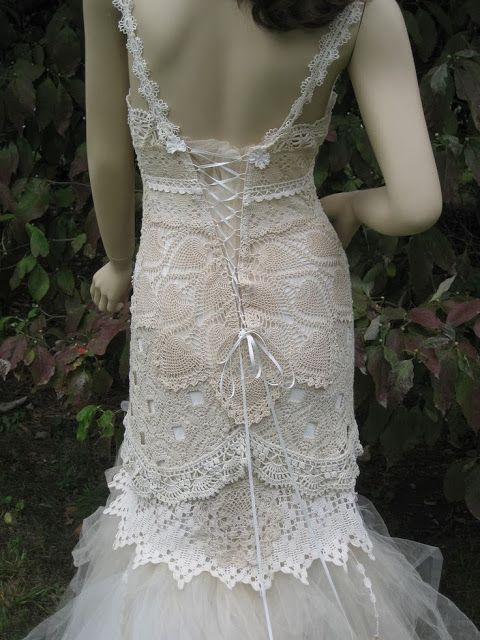 Crochet wedding dresses #Labola #wedding #gowns follow us on Facebook ...