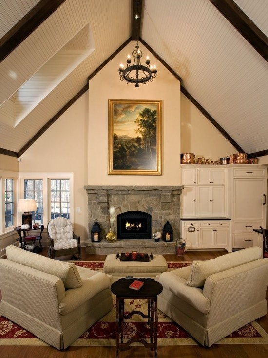 Cathedral Ceiling Home Is Where The Heart Is Pinterest