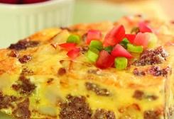 Sausage Frittata | Breakfast | Pinterest