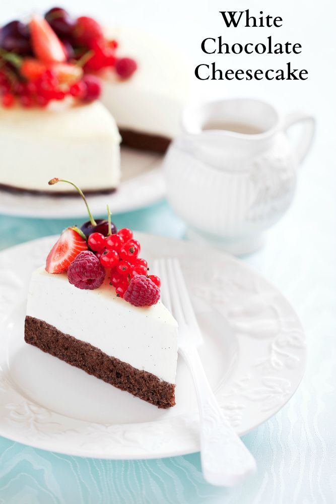 White Chocolate Cheesecake | Recipe