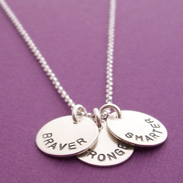 Special Graduation Gifts From Mother To Daughter : ... Gift - Personalized Jewelry in Sterling Silver. USD47.00, via Etsy