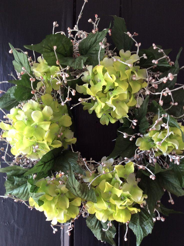 Summer front door wreath nice wreaths pinterest