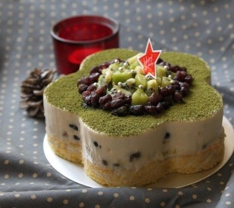 Red bean matcha cheese cake | Things in and out of my head 4 | Pinter ...
