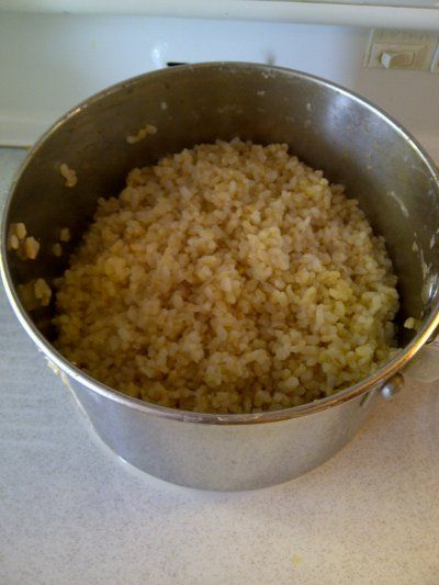 ... new way to cook perfect (non-mushy) brown rice - every time
