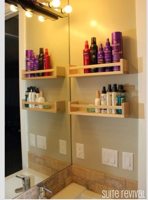 Organize Using Ikea Spice Rack Bathroom Ideas Pinterest