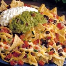 Layered Nacho Guacamole Appetizer | fatima | Pinterest