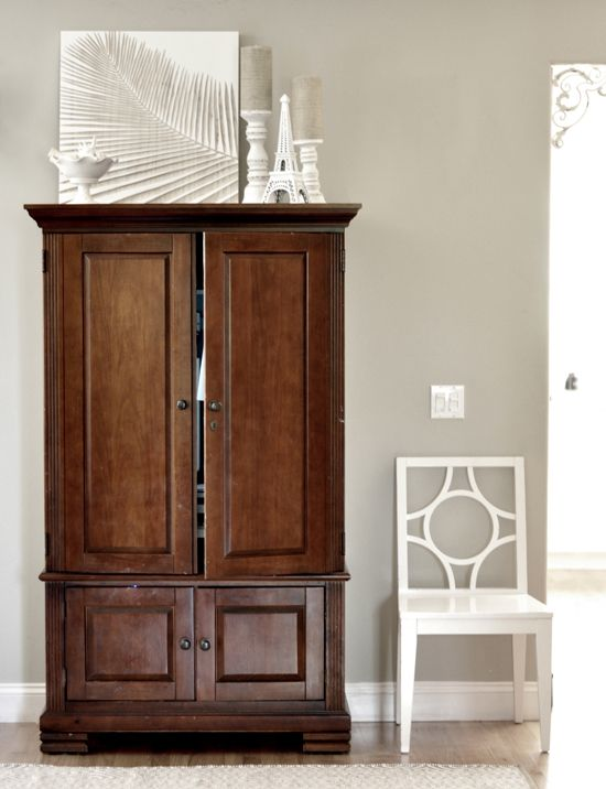 Amazing Get Your Tools Ready An Armoire Just Might Be The Perfect Place To Hide A Computer Or Your Billpaying Supplies When Theyre Not Needed Often The Cabinets Have Builtin Power Strips, Making It Easy To Plug In Your Electronics You Might