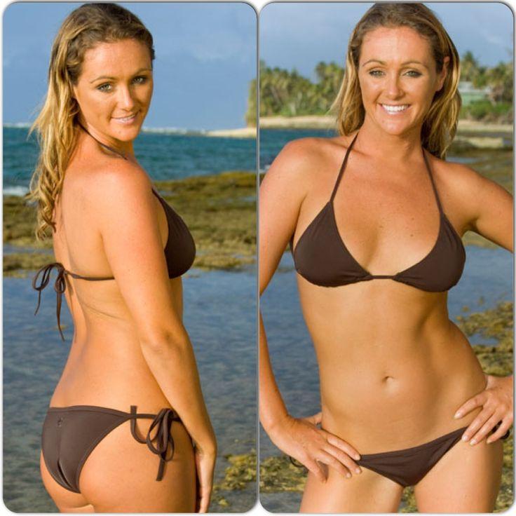 Chocolate brown bikini