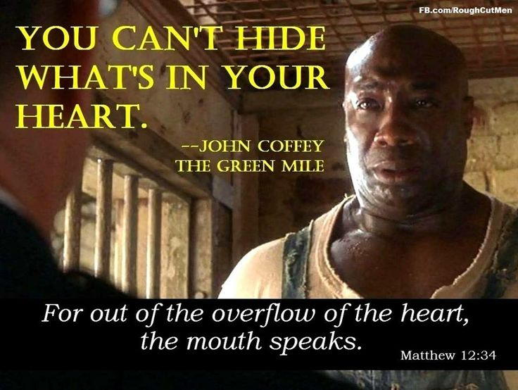 The Green Mile   Favorite movie quotes   Pinterest