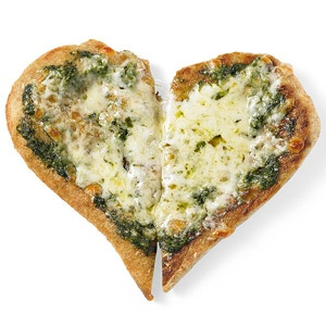 Two-Cheese Pesto Pizza | Bread and Pizza | Pinterest