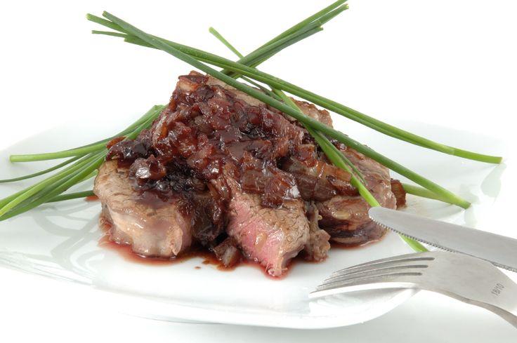 ... balsamic glaze filet mignon with rich balsamic glaze recipe allrecipes