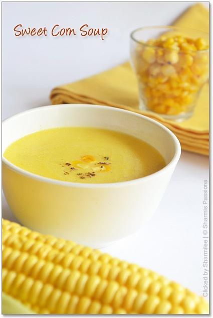 Sweet Corn Soup | Sandwiches, Soups, & Salads | Pinterest