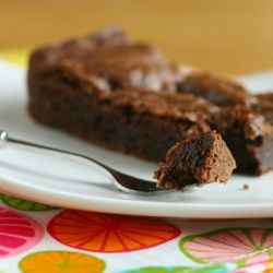 Gluten-Free brownies, perfectly fudgy and cakey and lovely for a food ...