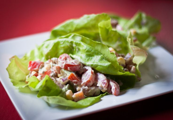 benton's bacon blt lettuce wraps | recipes | Pinterest