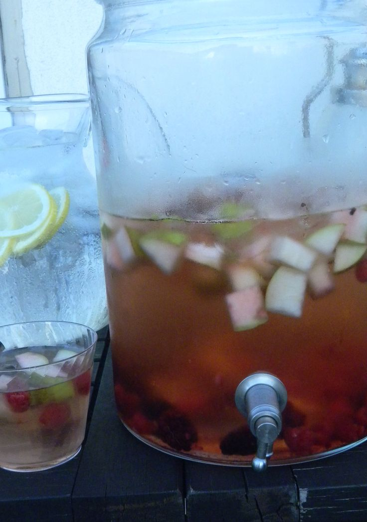 best white sangria! marinate the fruit 12 hours minimum with triple ...