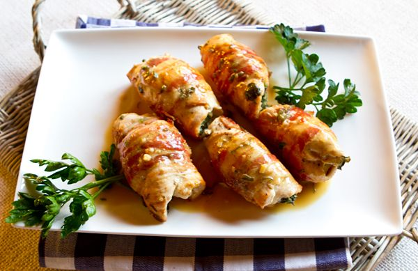 Italian Food Forever: Pancetta Wrapped Stuffed Chicken Cutlets! This ...