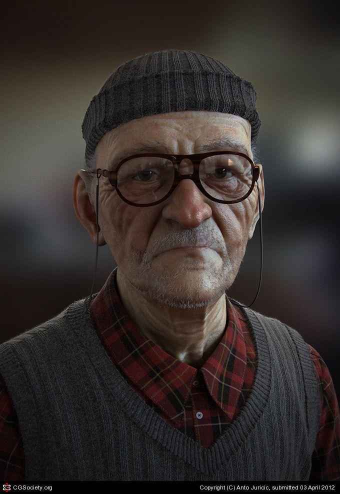 Mannenwereld - CG 3D art