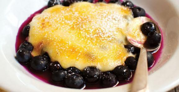 Blueberry Lemon-Lime Gratin   KitchenDaily.com