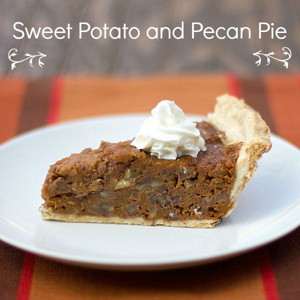Sweet Potato and Pecan Pie | Sweets | Pinterest
