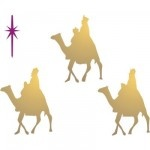 wise men stencil | Christ based Christmas ornaments and decor | Pinte ...