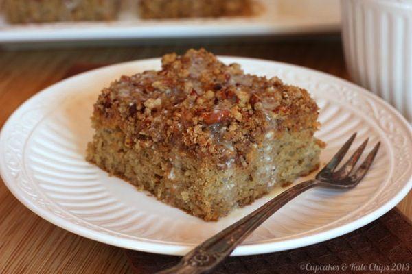 Gluten-Free Pumpkin Buckle With Sugared Pecans Recipes — Dishmaps