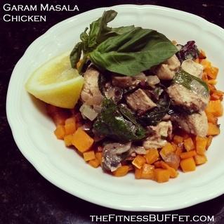 Garam Masala Chicken - Paleo