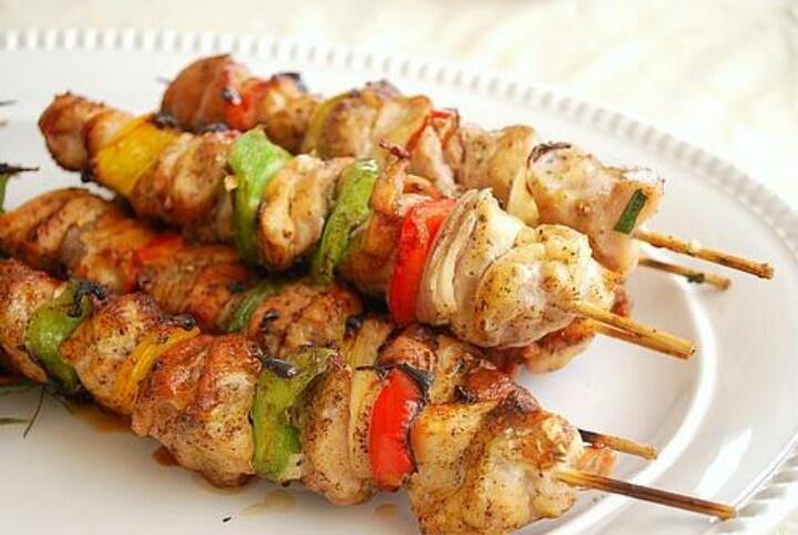 Honey Chicken Kabobs   Foodies...breads...odd & ends...   Pinterest