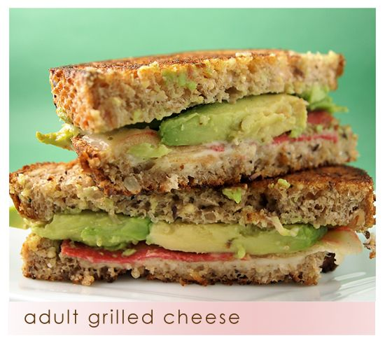Healthy Grilled Cheeses