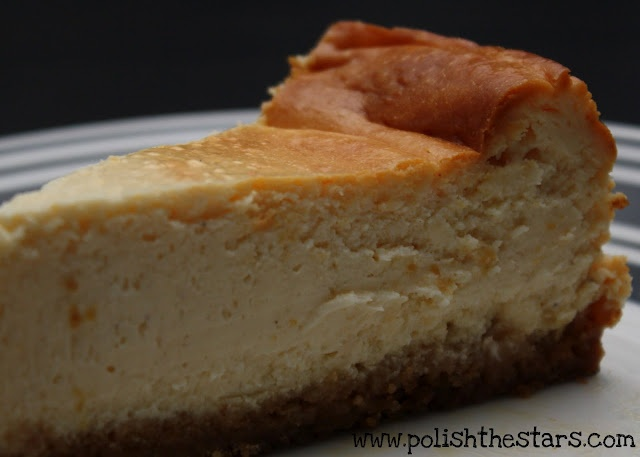... eggnog cheesecake! I can't wait to make it again this year