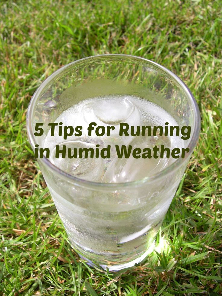 5 Things to Remember About Running in the Heat and Humidity