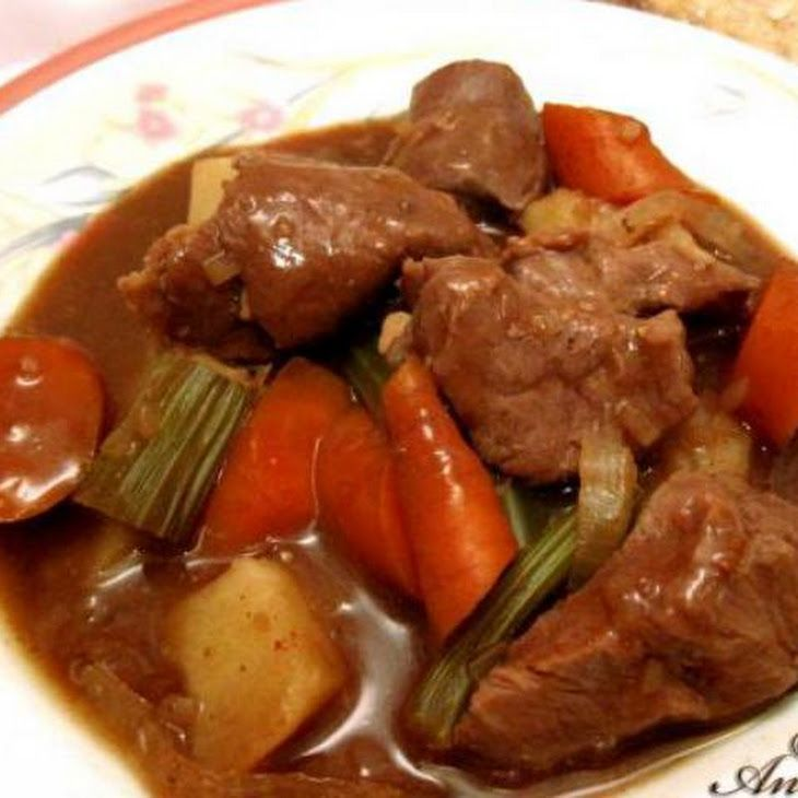 Crock Pot Beef Stew. My edit: Nothing, might experiment with spices ...