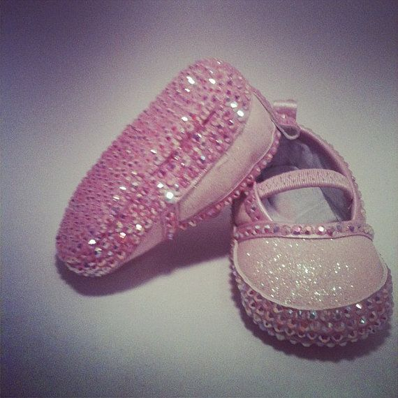Newborn Baby Shoes by AngelicAccessories on Etsy, $20.00