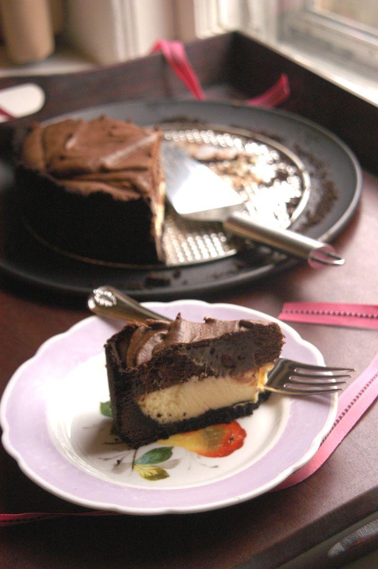 Chocolate Mousse Cheesecake | Sweetness | Pinterest