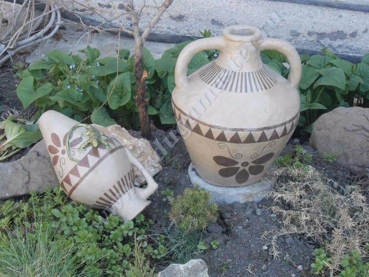 Садовая ваза своими руками мастер класс 45