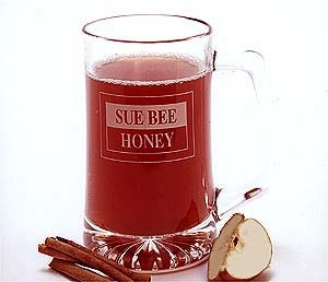 Sue Bee #Honey Apple-Cranberry Cider