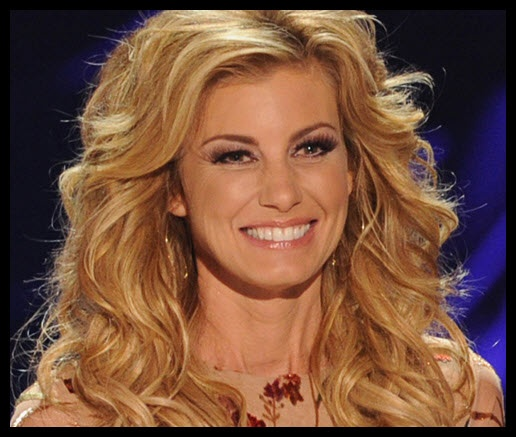 Opinion Country music singer faith hill nude are