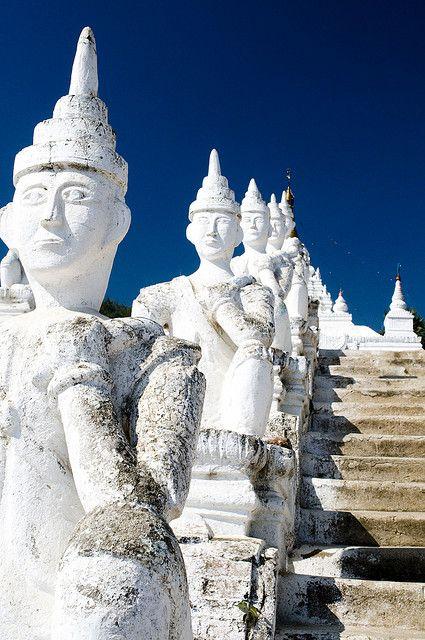 ✮ Settawya Paya, Mingun, Burma